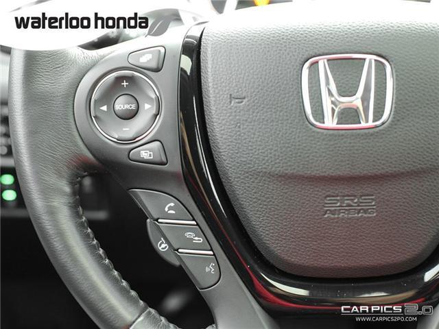 2018 Honda Ridgeline Touring (Stk: H2865) in Waterloo - Image 11 of 28