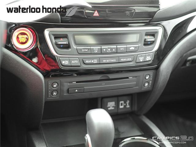 2018 Honda Ridgeline Touring (Stk: H2865) in Waterloo - Image 13 of 28