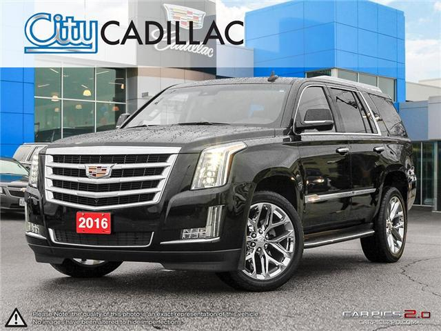 2016 Cadillac Escalade Luxury Collection (Stk: R12085) in Toronto - Image 1 of 28