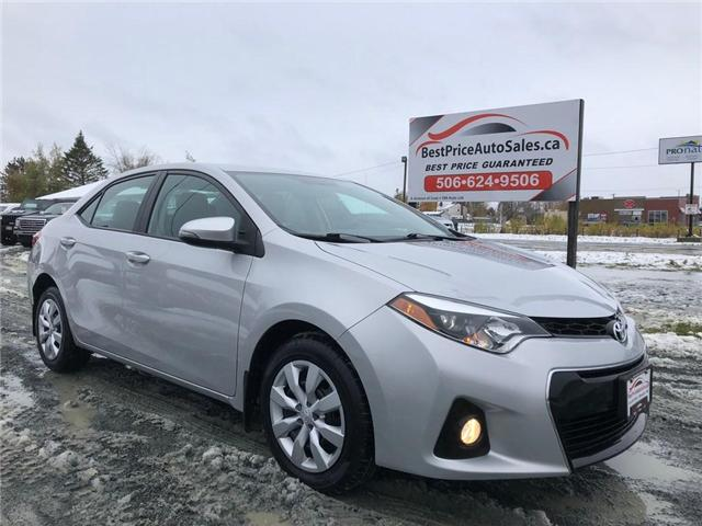 2014 Toyota Corolla  (Stk: A2756) in Amherst - Image 1 of 30