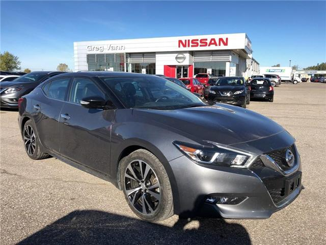 2018 Nissan Maxima SL (Stk: P2511) in Cambridge - Image 1 of 27