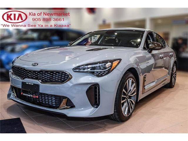 2019 Kia Stinger GT-Line (Stk: 190107) in Newmarket - Image 1 of 20