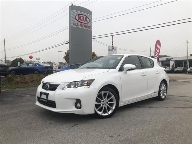 2012 Lexus CT 200h Base (Stk: KU622) in Orillia - Image 1 of 21