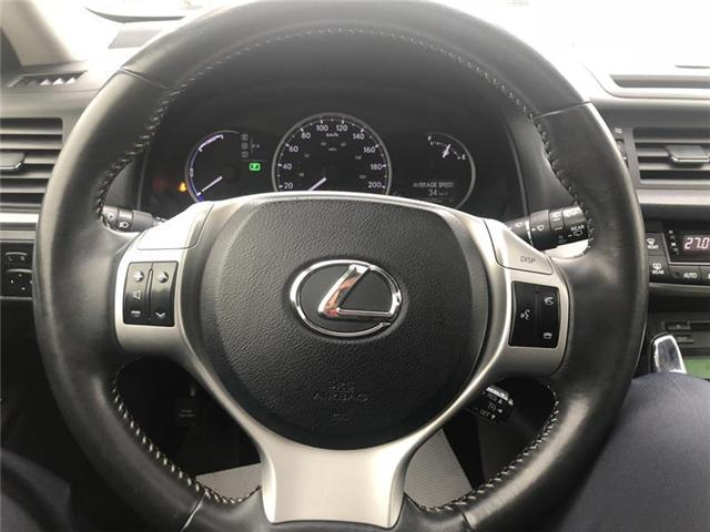 2012 Lexus CT 200h Base (Stk: KU622) in Orillia - Image 11 of 21