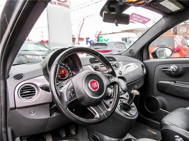 2013 Fiat 500 Sport Turbo (Stk: P413) in Toronto - Image 9 of 12