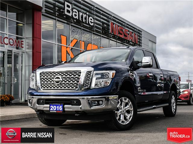2016 Nissan Titan XD SL Gas (Stk: 18542A) in Barrie - Image 1 of 29