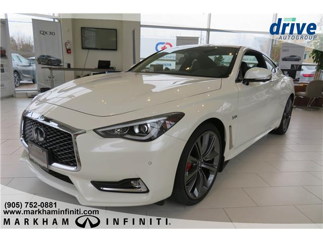 2018 Infiniti Q60 3.0t Red Sport 400 (Stk: J232) in Markham - Image 1 of 16