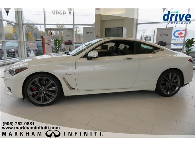 2018 Infiniti Q60 3.0t Red Sport 400 (Stk: J232) in Markham - Image 2 of 16