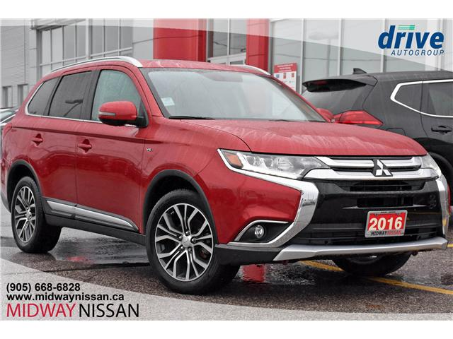 2016 Mitsubishi Outlander GT (Stk: U1407A) in Whitby - Image 1 of 26