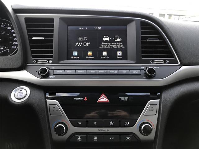2018 Hyundai Elantra GLS (Stk: H18-0146P) in Chilliwack - Image 11 of 13