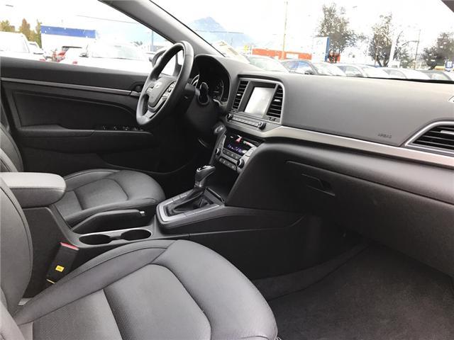 2018 Hyundai Elantra GLS (Stk: H18-0153P) in Chilliwack - Image 11 of 14