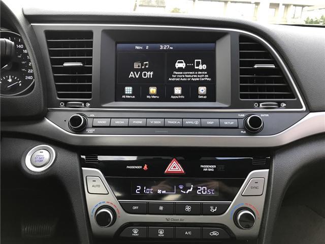 2018 Hyundai Elantra GLS (Stk: H18-0153P) in Chilliwack - Image 12 of 14