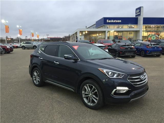 2018 Hyundai Santa Fe Sport 2.0T Limited (Stk: B7135) in Saskatoon - Image 1 of 28