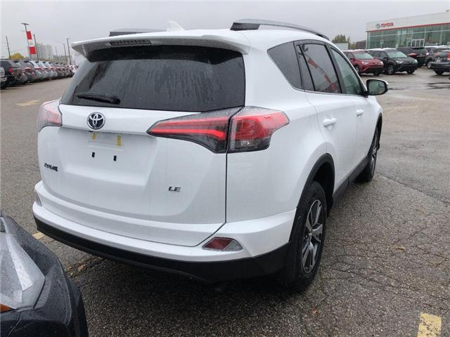 2018 Toyota RAV4 LE (Stk: 8RV1030) in Georgetown - Image 4 of 5