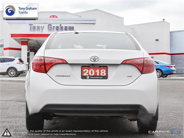 2018 Toyota Corolla LE (Stk: U9045) in Ottawa - Image 5 of 28