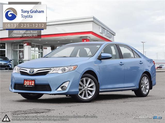 2012 Toyota Camry Hybrid XLE (Stk: D11314A) in Ottawa - Image 1 of 28
