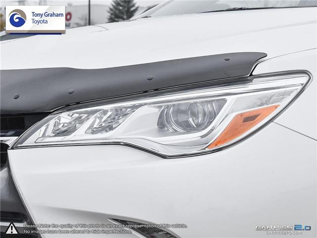 2016 Toyota Camry XLE V6 (Stk: E7645) in Ottawa - Image 10 of 28