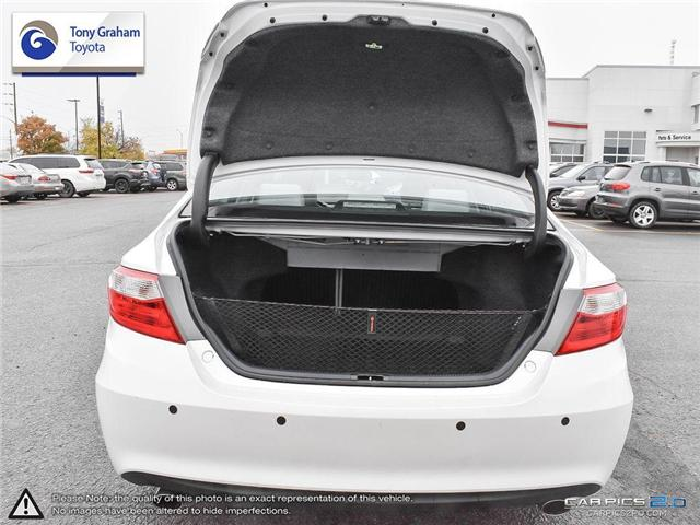 2016 Toyota Camry XLE V6 (Stk: E7645) in Ottawa - Image 11 of 28