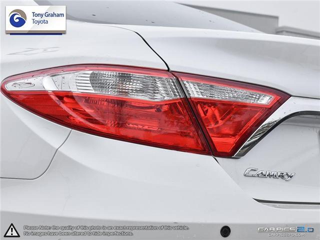 2016 Toyota Camry XLE V6 (Stk: E7645) in Ottawa - Image 12 of 28