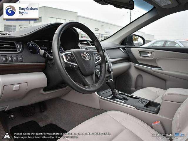 2016 Toyota Camry XLE V6 (Stk: E7645) in Ottawa - Image 13 of 28