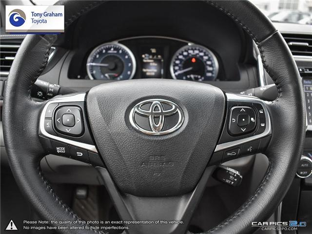 2016 Toyota Camry XLE V6 (Stk: E7645) in Ottawa - Image 14 of 28