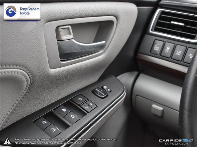 2016 Toyota Camry XLE V6 (Stk: E7645) in Ottawa - Image 16 of 28