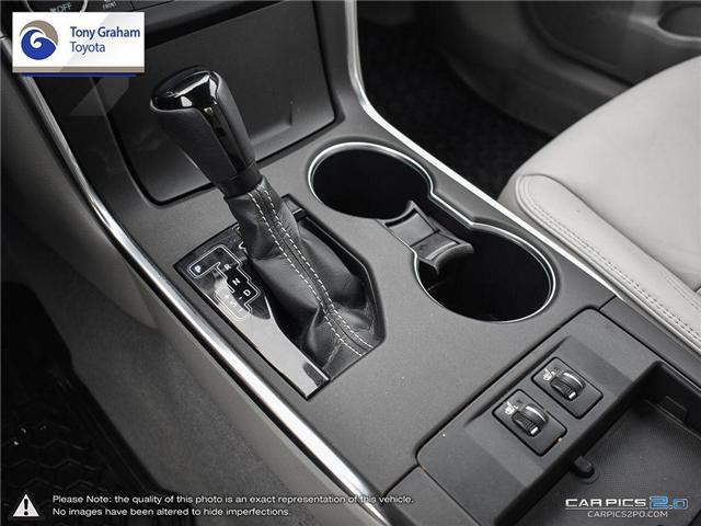 2016 Toyota Camry XLE V6 (Stk: E7645) in Ottawa - Image 20 of 28