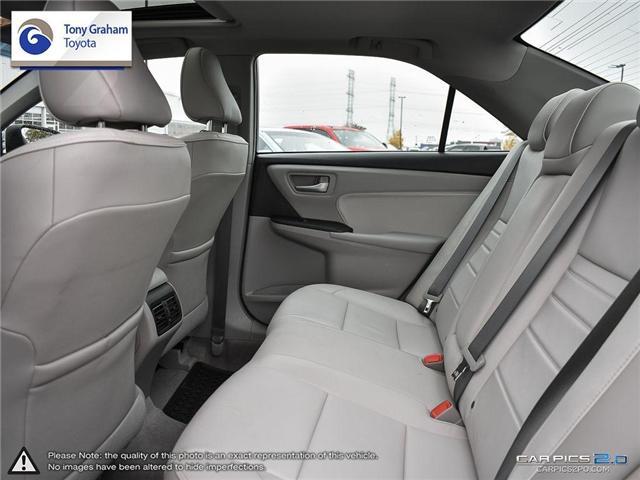 2016 Toyota Camry XLE V6 (Stk: E7645) in Ottawa - Image 24 of 28