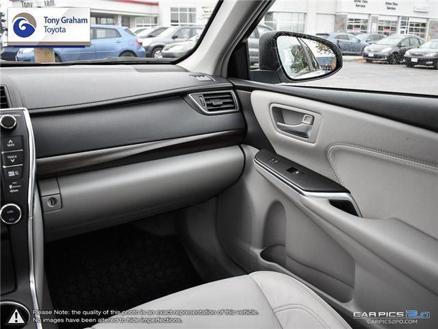2016 Toyota Camry XLE V6 (Stk: E7645) in Ottawa - Image 26 of 28