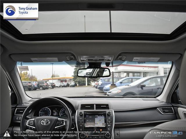 2016 Toyota Camry XLE V6 (Stk: E7645) in Ottawa - Image 27 of 28