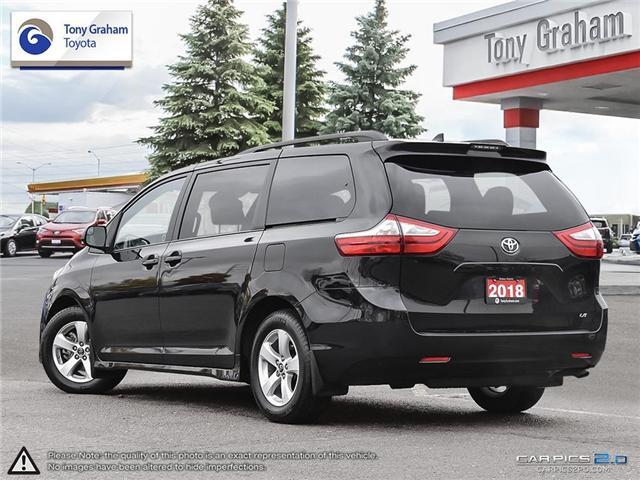 2018 Toyota Sienna LE 8-Passenger (Stk: U9044) in Ottawa - Image 4 of 26