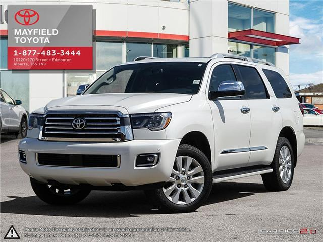 2018 Toyota Sequoia Platinum 5.7L V8 (Stk: 180235) in Edmonton - Image 1 of 20