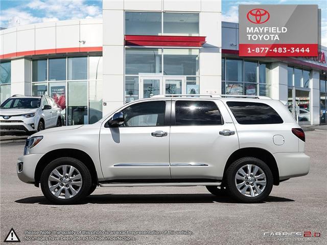 2018 Toyota Sequoia Platinum 5.7L V8 (Stk: 180235) in Edmonton - Image 3 of 20