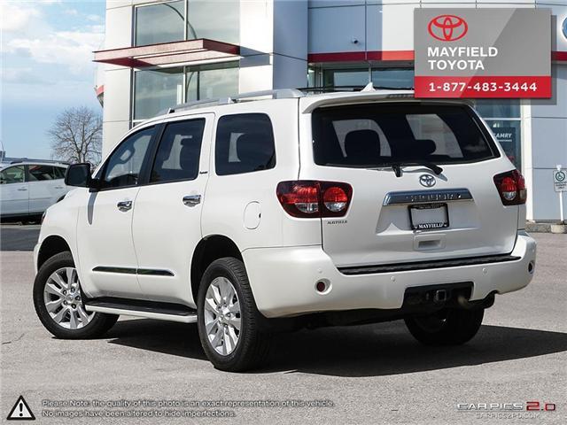 2018 Toyota Sequoia Platinum 5.7L V8 (Stk: 180235) in Edmonton - Image 4 of 20