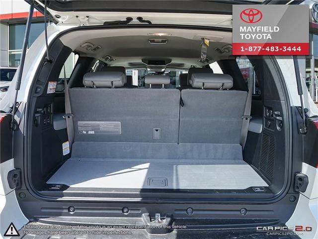 2018 Toyota Sequoia Platinum 5.7L V8 (Stk: 180235) in Edmonton - Image 10 of 20