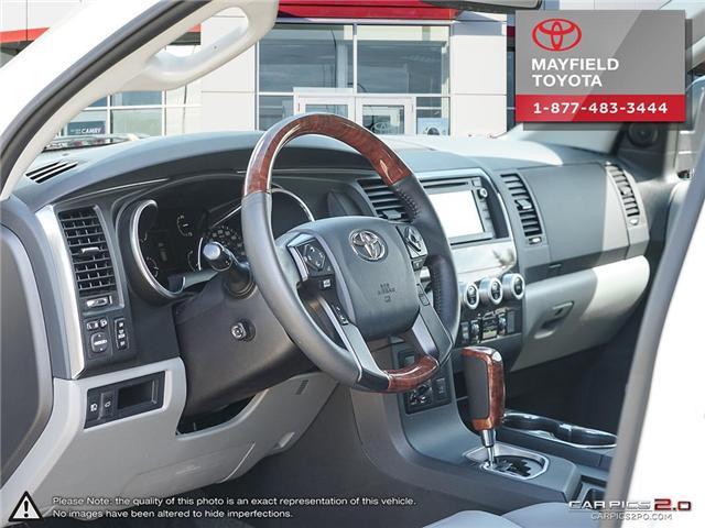 2018 Toyota Sequoia Platinum 5.7L V8 (Stk: 180235) in Edmonton - Image 12 of 20