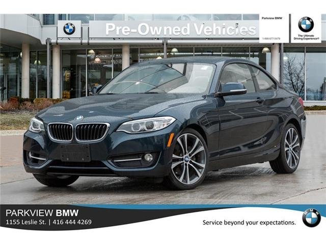 2014 BMW 228i  (Stk: 301922A) in Toronto - Image 1 of 20