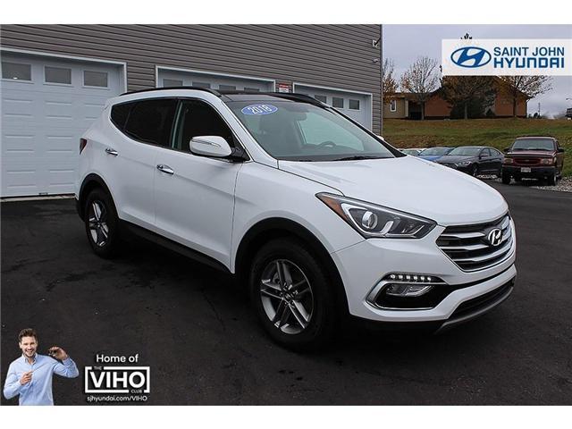 2018 Hyundai Santa Fe Sport 2.4 Luxury (Stk: U1927) in Saint John - Image 1 of 29