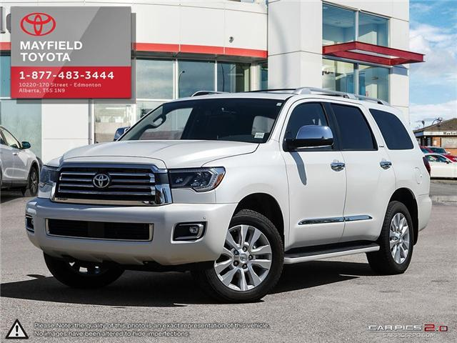 2018 Toyota Sequoia Platinum 5.7L V8 (Stk: 180279) in Edmonton - Image 1 of 20
