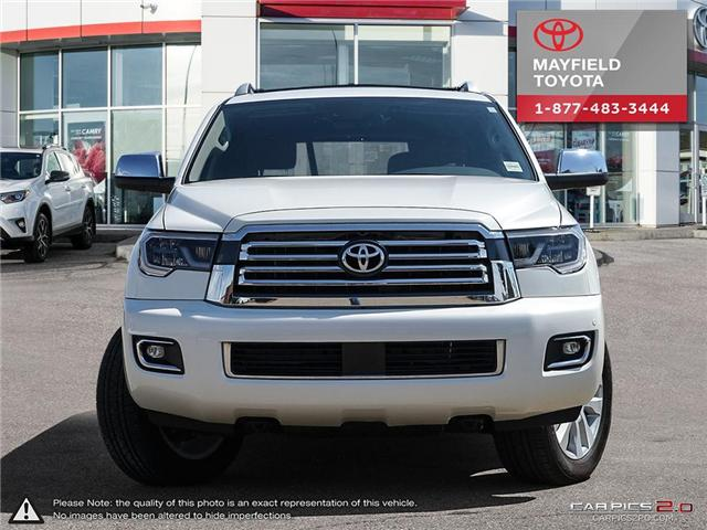 2018 Toyota Sequoia Platinum 5.7L V8 (Stk: 180279) in Edmonton - Image 2 of 20