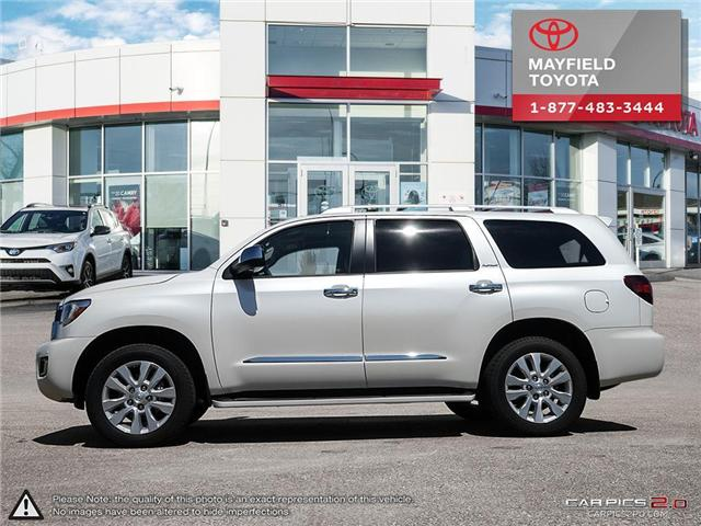 2018 Toyota Sequoia Platinum 5.7L V8 (Stk: 180279) in Edmonton - Image 3 of 20