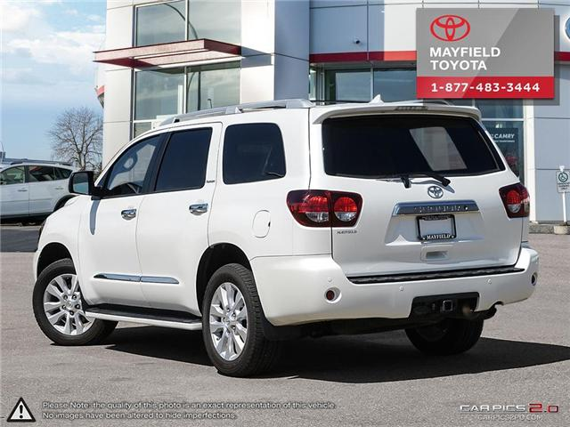 2018 Toyota Sequoia Platinum 5.7L V8 (Stk: 180279) in Edmonton - Image 4 of 20