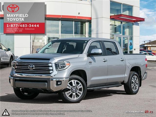 2018 Toyota Tundra Platinum 5.7L V8 (Stk: 180071) in Edmonton - Image 1 of 20
