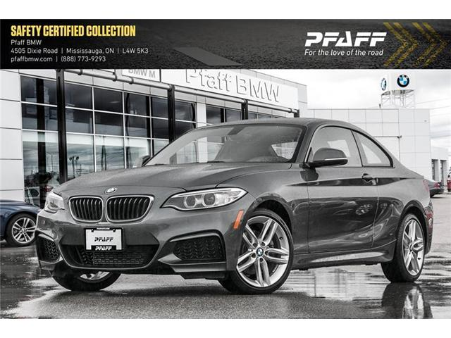 2016 BMW 228i xDrive (Stk: U5165) in Mississauga - Image 1 of 11