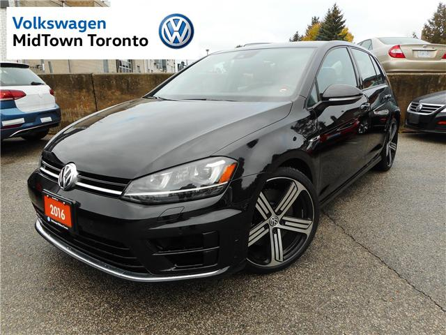 2016 Volkswagen Golf R 2.0 TSI (Stk: V9635A) in Toronto - Image 1 of 30