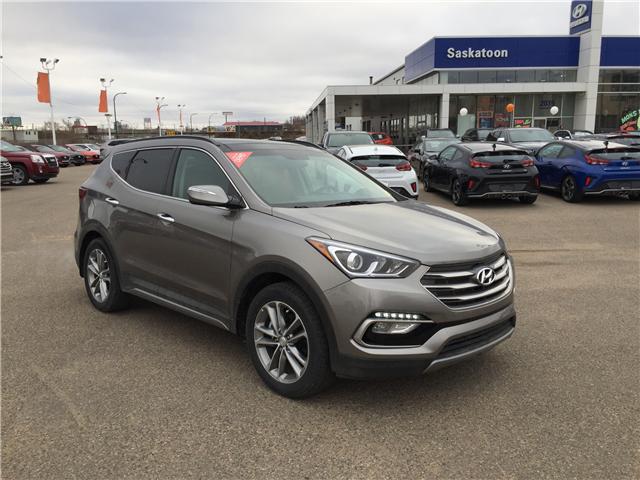 2018 Hyundai Santa Fe Sport 2.0T Limited (Stk: B7134) in Saskatoon - Image 1 of 27