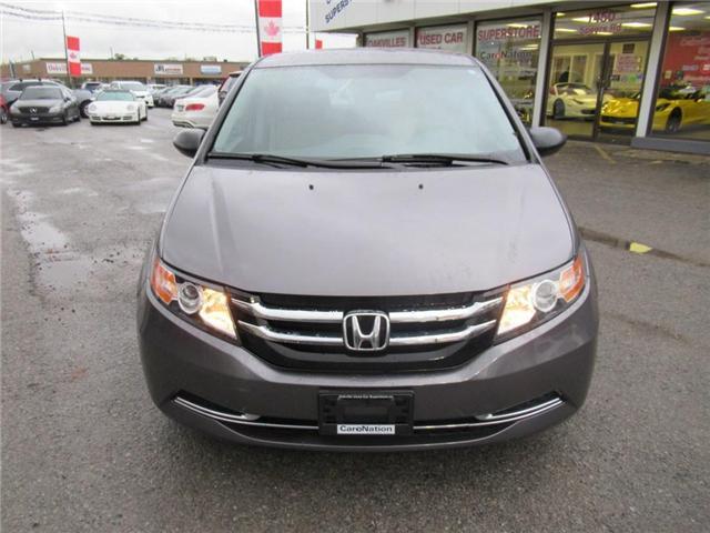 2014 Honda Odyssey SE | B/U CAMERA | 8 PASSENGER | ULTRA LOW KM! (Stk: P11552) in Oakville - Image 2 of 25