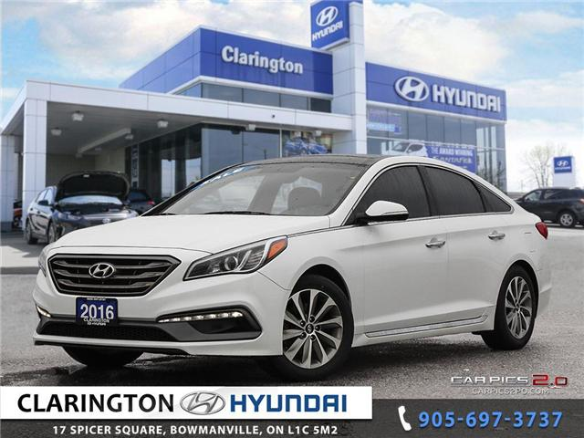 2016 Hyundai Sonata Sport Tech (Stk: 18472B) in Clarington - Image 1 of 27