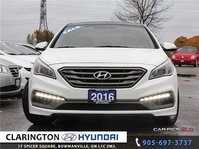 2016 Hyundai Sonata Sport Tech (Stk: 18472B) in Clarington - Image 2 of 27