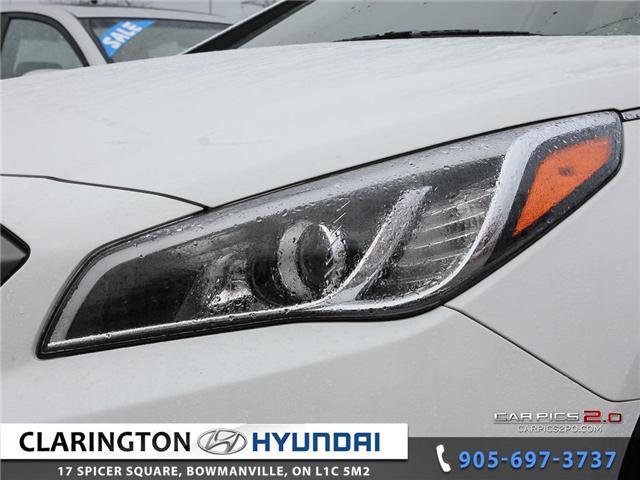 2016 Hyundai Sonata Sport Tech (Stk: 18472B) in Clarington - Image 24 of 27